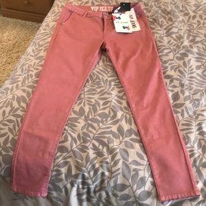 VIP sculpting Jeans, Rose color